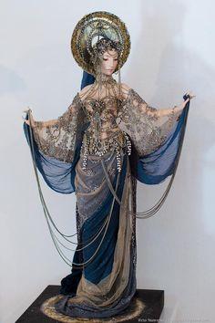 サーシャ・クジーコヴァ(1970〜)による作品。ロシアの人形作家。ロシアの伝統的な手法で繊細な人形を制作しています。 - ツイナビ | ツイッター(Twitter)ガイド