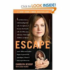 Great book on one woman's escape from the FLDS with her 8 children.
