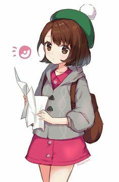 38 Ideas Funny Girl Drawing Life For 2019 Anime Chibi, Kawaii Anime, Manga Anime, Pokemon Game Characters, Anime Characters, Pokemon Fan Art, Cute Pokemon, Zoroark Pokemon, Female Pokemon Trainers