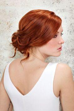 Pour un style femme fatale! Adoptez la coloration blond or cuivré .