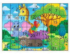 Preschool Puzzles, Fall Preschool Activities, Autism Activities, Preschool Education, Toddler Learning Activities, Preschool Curriculum, Puzzles For Kids, Preschool Crafts, Teaching Kids