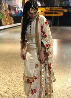 Shop salwar suits online for ladies from BIBA, W & more. Explore a range of anarkali, punjabi suits for party or for work. Punjabi Fashion, Indian Fashion Dresses, Dress Indian Style, Indian Outfits, Indian Wear, Patiala Suit Designs, Kurta Designs Women, Kurti Designs Party Wear, Punjabi Suits Designer Boutique