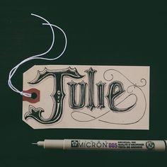 Julie #hangtag