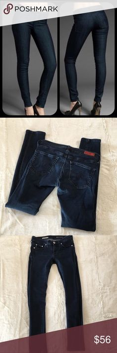 Adriano Goldschmied The Super Skinny Jegging Good used condition jeggings, size 25 Ag Adriano Goldschmied Jeans