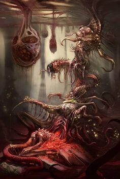 Lovecraft Arkham nightmare