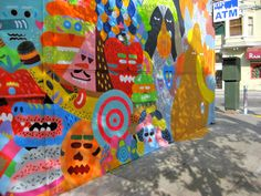 Haight Street Mural, San Francisco- Luke Ramsey Artist Portfolio