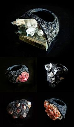 TheCarrotbox.com modern jewellery blog : obsessed with rings // feed your fingers!: Aoi Kotsuhiroi / Malu Berbers / RoughDiamonds (Maya Bjør...