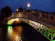 The Millenium Bridge. Dublin Ireland.