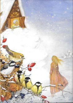 """""""Dame Hiver"""" : un conte des frères Grimm (de IVO_2009 = DE-3867252)."""