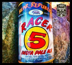 Racer 5 de Bear Republic Au Consulat de la Bière Rc Cola, Beverages, Drinks, Ipa, Brewing, Canning, Drinking, Brow Bar, Home Canning