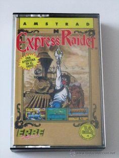 VIDEOJUEGO EXPRESS RAIDER AMSTRAD 464/6128