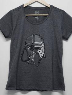 Camiseta Feminina Star Wars Dark Side  381ac979610