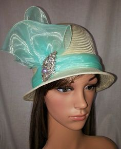 Aletha (Bespoke order)  BY LINDA FORD #millinery #hats #HatAcademy