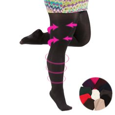 L-XL 12 colors Bigger Taller Girls Candy Bottoming Thights SP153344