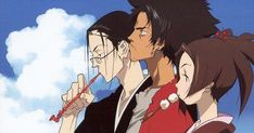 15 Years of Samurai Champloo 15 Years of Samurai Champloo Back in 2004 Cowboy Bebop director Shinichiro Watanabe unleashed Samurai Champloo a boldly anachronistic mashup of Edo Japan and early hiphop. How does it hold up 15 years later? Samurai Shamploo, Samurai Weapons, Manga Art, Anime Manga, Anime Art, Hot Anime, Anime Boys, Cowboy Bebop, Best Action Anime