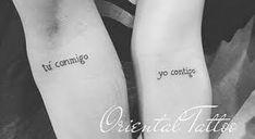 21 Tattoos for couples who want to spend their entire lives together - Tatoo - Tatuajes Mini Tattoos, Trendy Tattoos, Love Tattoos, Tattoo You, Body Art Tattoos, Tatoos, Small Couple Tattoos, Small Tattoos, Homemade Tattoos