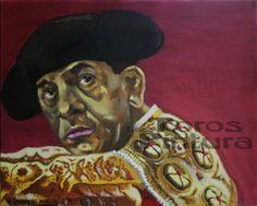 A las Cinco en Punto. Miradas de la Fiesta Óleo sobre lienzo 41x33 cm (285 €)