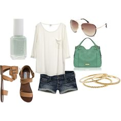 summer, created by ttavill on Polyvore