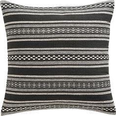 "varanasi 23"" pillow in new rugs/pillows | CB2"