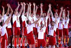 CHAMPIONS OF THE WORLD 2014 #polish #volleyball Champions Of The World, Ski Jumping, Volleyball, Skiing, Concert, Sports, Athletes, Polish, Passion