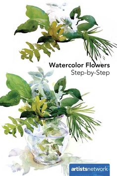 Whether you're a beginner at watercolor painting or an expert, you'll love this step-by-step demonstration on how to paint a floral still life.