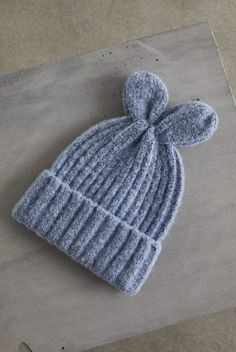 BCBGeneration Bunny Ears Beanie  Bunny BCBGeneration Beanie Blue Skies 14d527379950