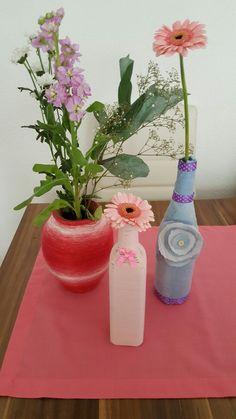 Made By me Bottle, Handmade, Home Decor, Hand Made, Decoration Home, Room Decor, Flask, Home Interior Design, Jars