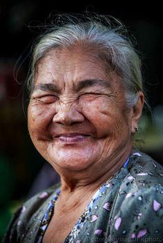 Beautiful lady,beautiful smile!