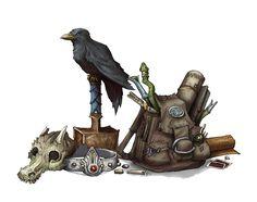 Midgard Items I by butterfrog.deviantart.com on @DeviantArt