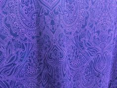 Purple Prince Paisley ‹ Paisley Power ‹ Reader — WordPress.com Paisley Fabric, Wordpress, Prince, Curtains, Purple, Blinds, Draping, Viola, Picture Window Treatments