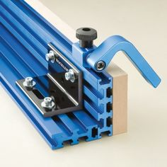 Multi Track Brackets connect Multi Tracks to form L-shaped fences Rockler $19.99