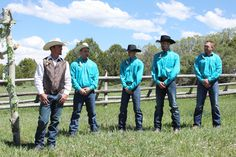cowboy wedding. Rustic country wedding. turquoise and brown