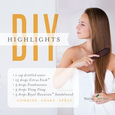 We'll be getting that sun-kissed summer hair with this easy DIY hair highlights recipe.