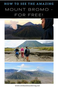 How to See Amazing Mount Bromo for Free