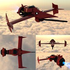 cowboy bebop aircraft - Google Search