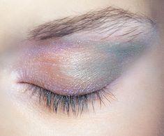 mermaid eye makeup~                                                       …