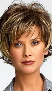 Imagini pentru short haircuts for women over 50 front and back view