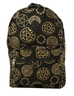 Supernatural Symbols Backpack * Learn more by visiting the image link. (This is an Amazon Affiliate link and I receive a commission for the sales)