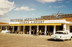 #Athens Airport in 1957!