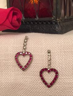 Valentine's Night Out Earrings by MammawsAttic on Etsy