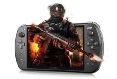 JXD S7300 Smart Game Console To 7 inch J  Android 4.4 Quad Core ,1GB RAM 8GB R