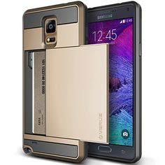 Galaxy Note 4 Case, Verus [Card Slot Case] Samsung Galaxy Note 4 Case [Damda Slide][Champagne Gold] Slim Fit Dual Layer Protective Card Slot Case - Verizon, AT&T, Sprint, T-Mobile, International, and Unlocked - Case for Samsung Galaxy Note IV SM-N910S Late 2014 Model Verus http://www.amazon.com/dp/B00MJE70EE/ref=cm_sw_r_pi_dp_9Rirub0V7F8JM