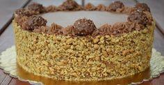 Már nagyon sokan kértetek tőlem Ferrero Rocher tortát, és annyira megkívántam, hogy most elkészítettem a saját verziómat:) H...