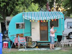 Vintage Camper Trailer resource, so fun!