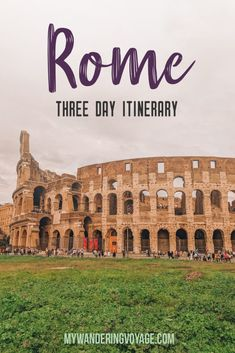 Looking for great places to travel? Visit Rome, Italy – the eternal city – and visit some of the most beautiful and historical sites in just three days. Here are the things to do in Rome in 3 days. Italy Travel Tips, Rome Travel, Europe Travel Guide, Europe Destinations, Travel Guides, Travel Plane, Travel Packing, Positano, Amalfi