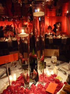 red uplighting wedding | Paul & Gabriela – [seven-degrees], Laguna Beach, CA | Southern ...
