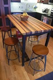 Картинки по запросу butcher block dining table plans