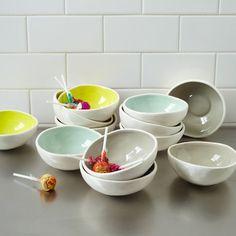 Colored Glaze Prep Bowls | west elm