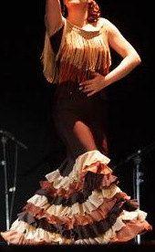 Chocolate Flamenco Skirt/Dress. $135.00, via Etsy.