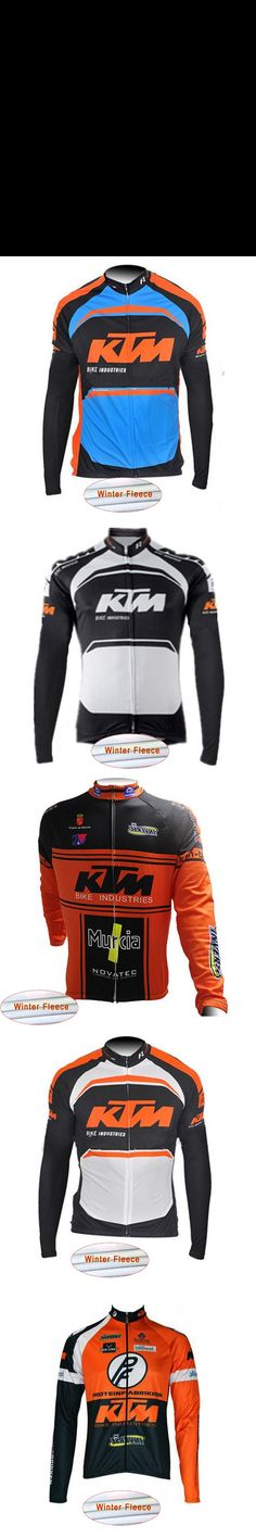 2017 Pro team KTM Long Sleeve Cycling Jersey Winter thermal fleece bike Clothing maillot Ropa Ciclismo hombre China Cheap G29